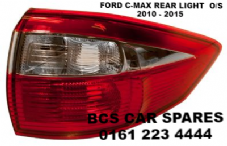 FORD  C MAX  REAR LIGHT  DRIVERS SIDE REAR  O/S   2010  2011  2012  2013  2014  2015  NEW  NEW